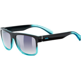 UVEX LGL 21 Glasses black turquoise/ltm.smoke
